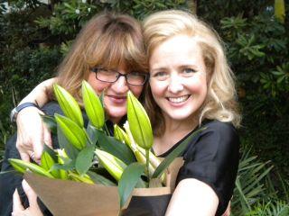 Tayla Masel & Taryn Fiebig + flowers