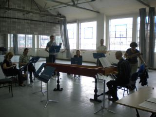 L'Ormindo rehearsal