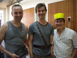 Adam, Andrew & Bernie