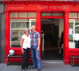 Liz & Derek in London