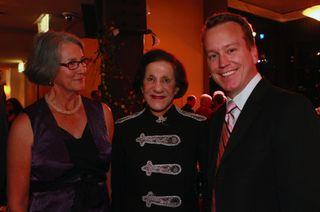 Liz Nielsen, Her Excellency, David Walker -Fundraiser 2010