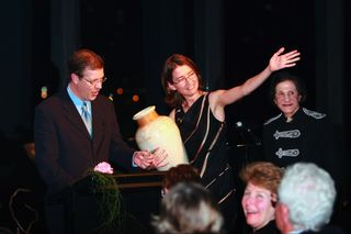 Guy Noble, Genevieve Lang, Her Excellency