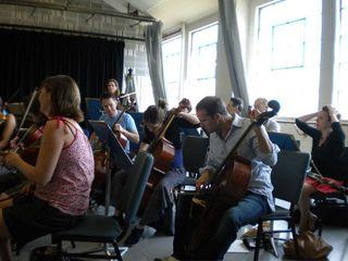 Orchestra rehearsal 2