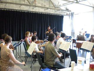Orchestra rehearsal 3