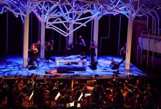 Orchestra & set